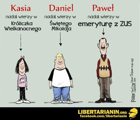 #dzieci #krolik #wielkanocny #wielkanoc #swiety #mikolaj #boze #narodzenie #naiwnosc #emerytura #z #zus #krus #podatki #panstwo #opiekuncze #etatyzm #socjalizm