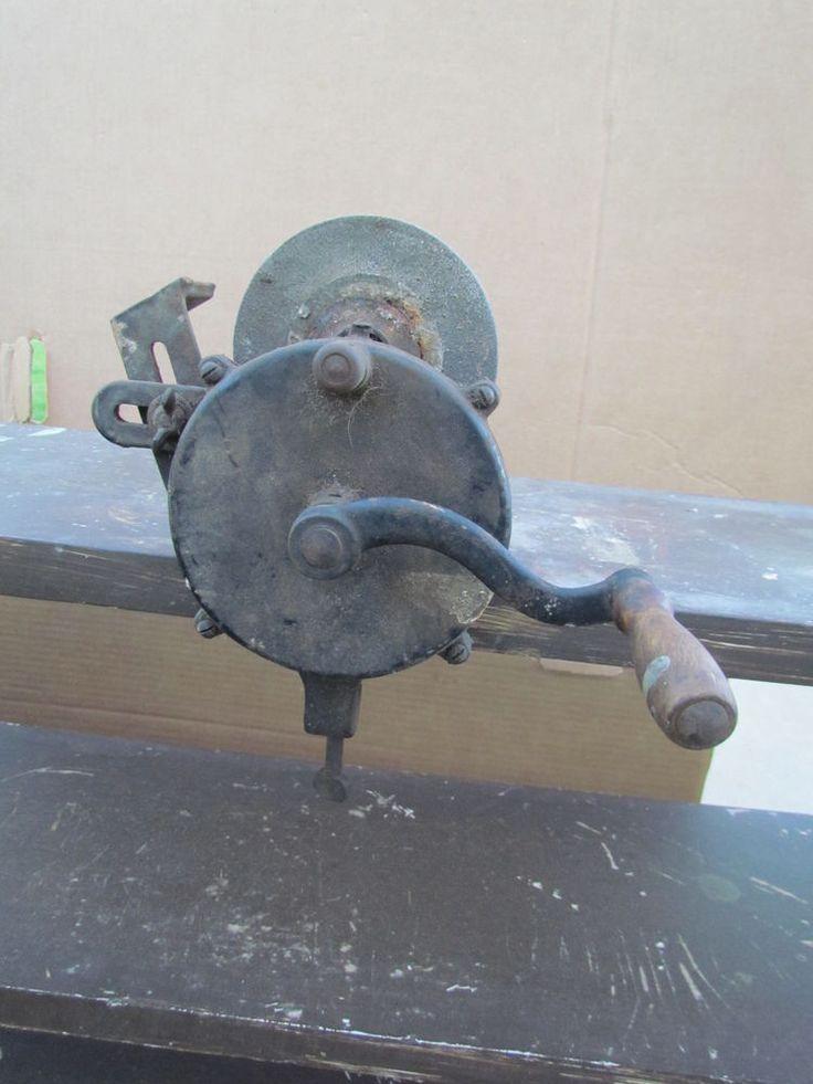 Vintage Alaska trituradora de modelo 37 amoladora mano