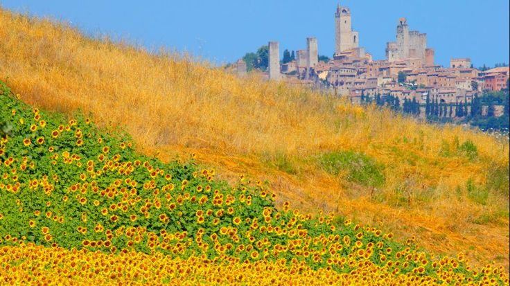 San Gimignano, Italy... looks like something out of a fairytale