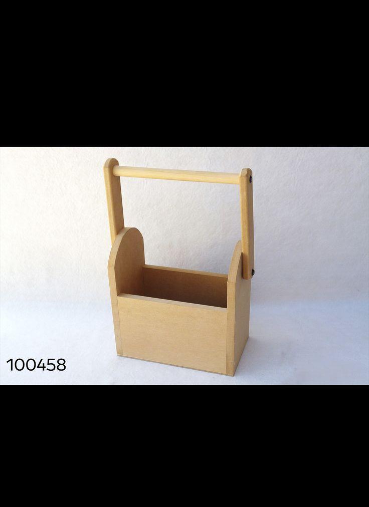 caja fibrofacil con manija 20 x 12 x 34 cm cod 100458. Black Bedroom Furniture Sets. Home Design Ideas