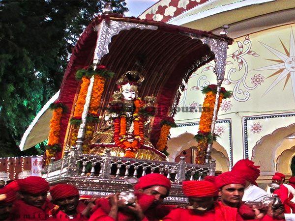 Teej is the most celebrated festival in Rajasthan. Teej festival is celebrated during the month of Saawan.