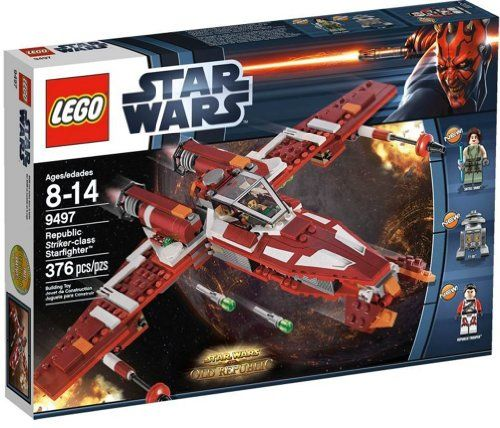 LEGO Star Wars – Republic Striker-class Starfighter (9497) | Your #1 Source for Toys and Games
