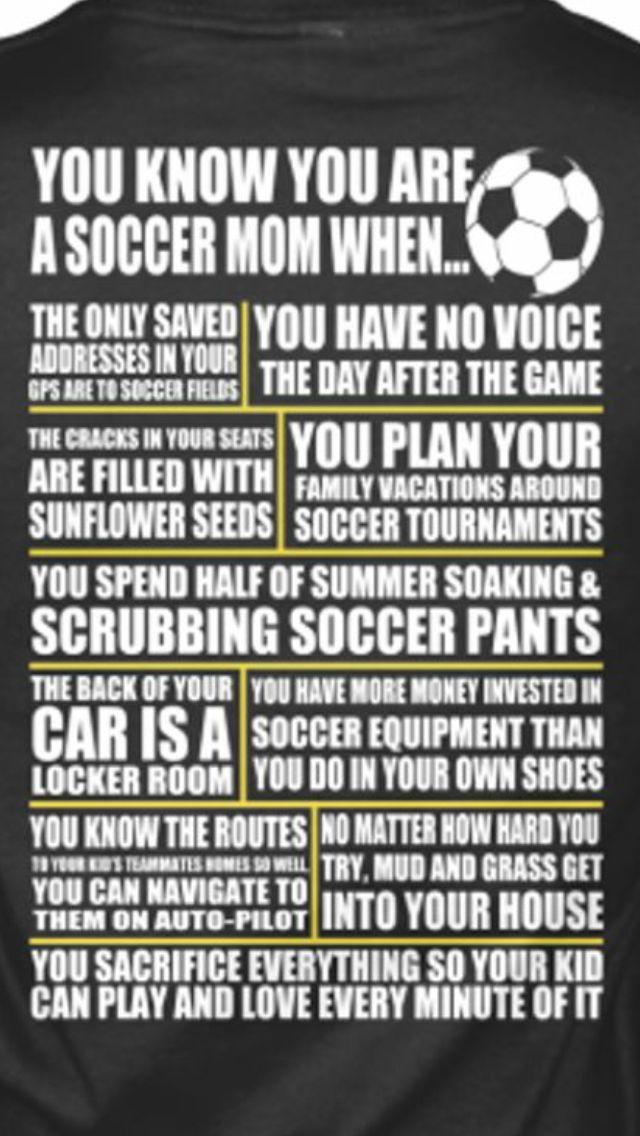Soccer Mom Humor                                                                                                                                                      More