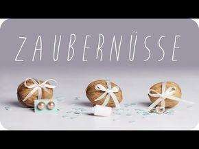 DIY   Zaubernüsse selber machen   Geburtstagsüberraschung   Geschenkideen   Geschenke   chestnut! - YouTube