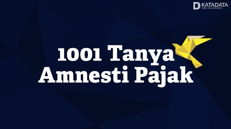 Tax Amnesty Live Streaming