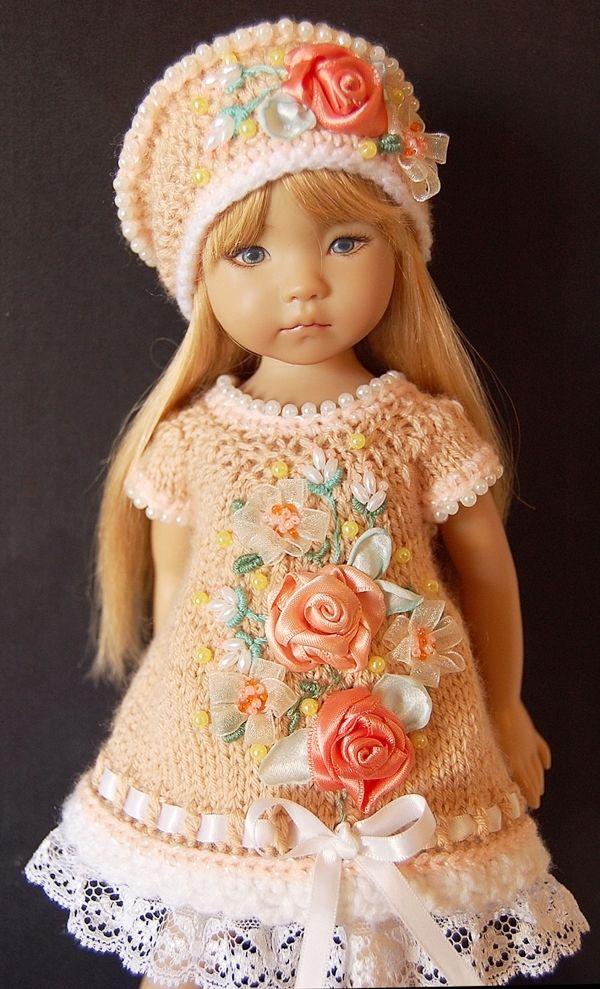 Beautiful Crochet Outfit for Little Darling (Effner)