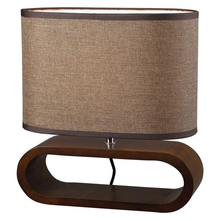 Elk Lighting Oval Wooden Table Lamp | from hayneedle.com