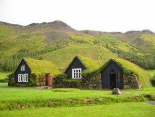 """green"" houseGreen Building, The Shire, Earth Home, Greenroof, Green Roof, Underground Home, Green House, Hobbit House, Faroe Islands"
