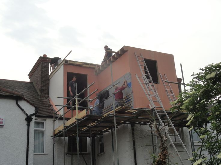 One Of Our L Shape Dormers In Wimbledon Sw19 Loft