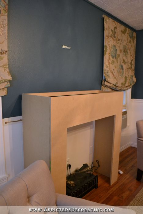 DIY Fireplace Part 2 – The Basic Structure Finished