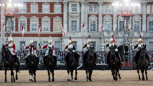 Household Division's Beating Retreat at Horse Guards Parade