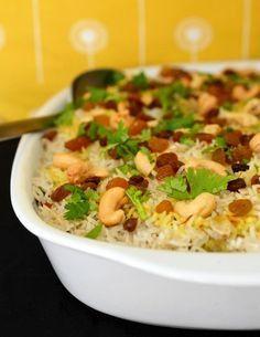 Recipe: Vegetable Biryani Rice