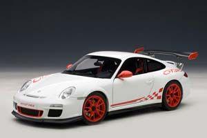 Porsche 911 GT3 White with Red
