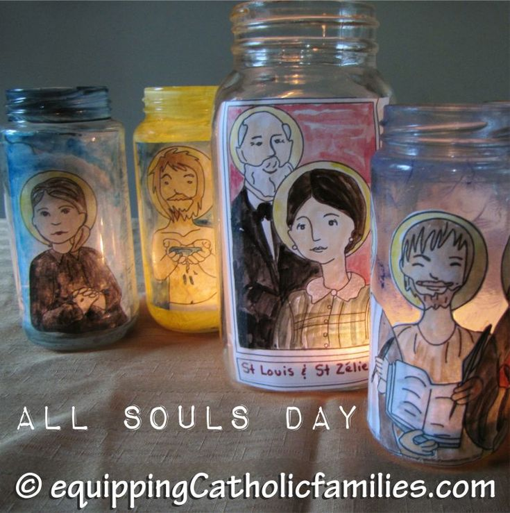 All Souls Day: links, crafts, prayers, family traditions