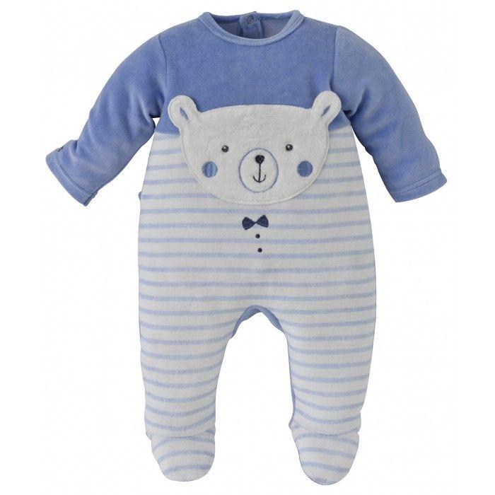 64b08cbb99a1a PYJAMA BEBE GARÇON BLEU - Pyjamas