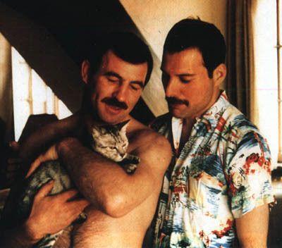 Jim Hutton, Freddie &Dorothy - Freddie Mercury Photo (14048472) - Fanpop