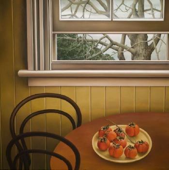 """Persimmons"" di Glenda Randerson"