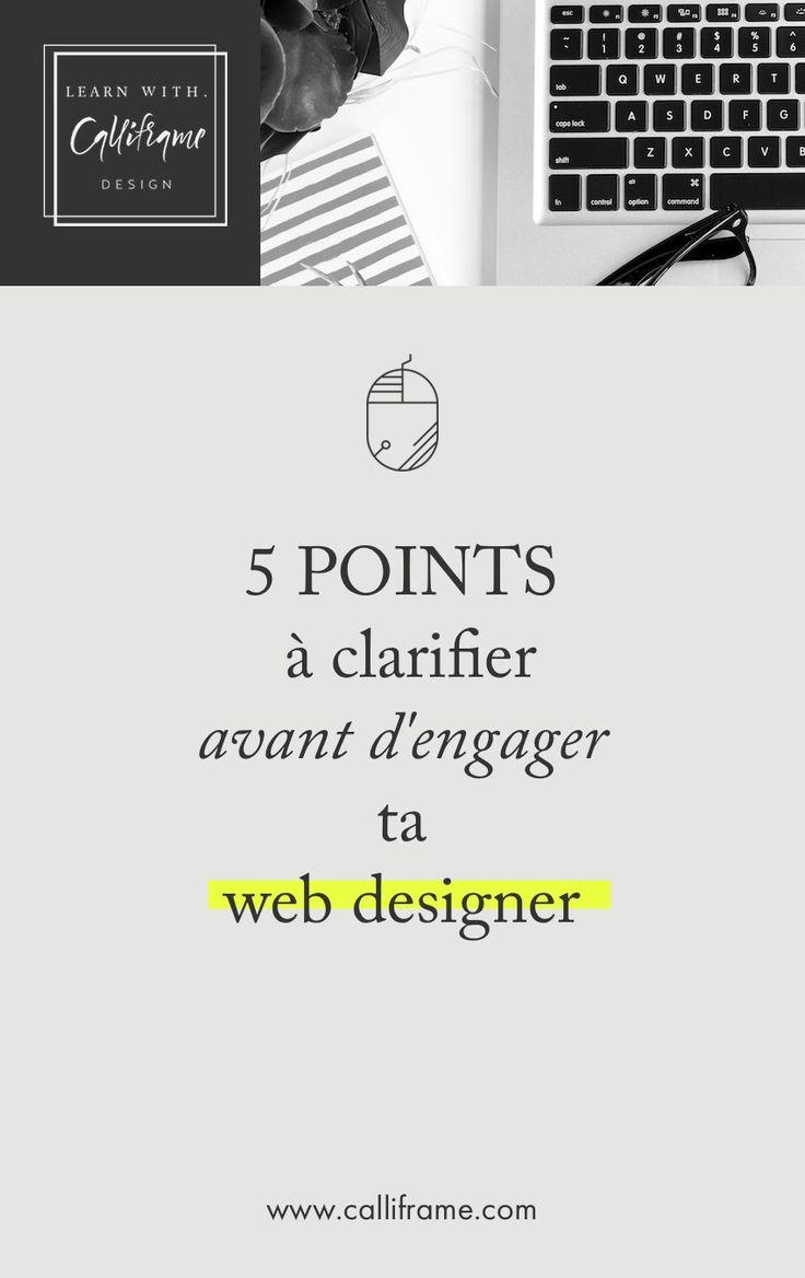 5 points à clarifier avant d'engager un web designer webdesign, business en ligne, site internet, wordpress, entrepreneure, entrepreneuse