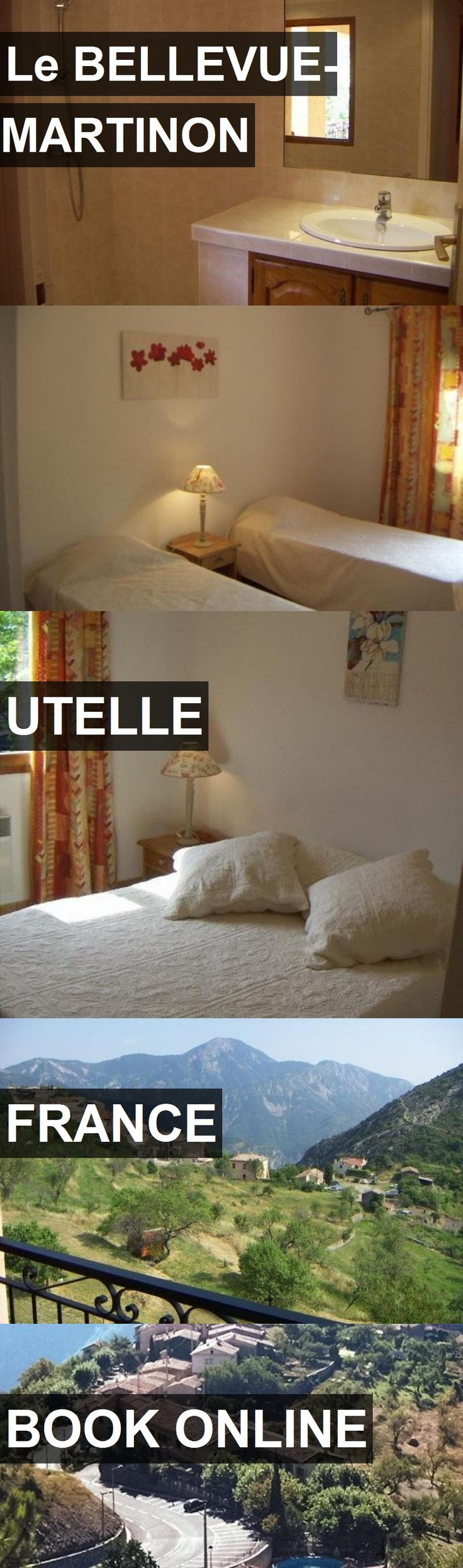 Hotel Le BELLEVUE- MARTINON in Utelle, France. For more information, photos, reviews and best prices please follow the link. #France #Utelle #hotel #travel #vacation