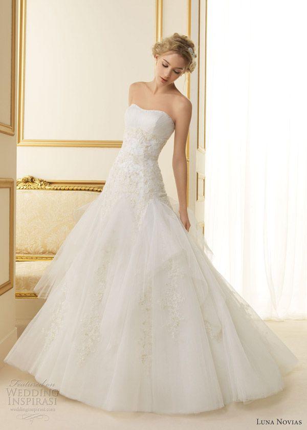 Luna Novias 2013 Wedding Dresses | Wedding Inspirasi