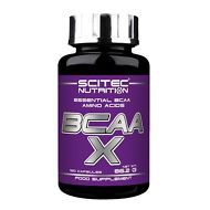 BCAA-X 120caps - Scitec - Aminoácidos Ramificados, Construye Mùsculo