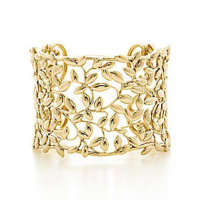 Tiffany & Co. -  Paloma Picasso®: Bracciale rigido Olive Leaf
