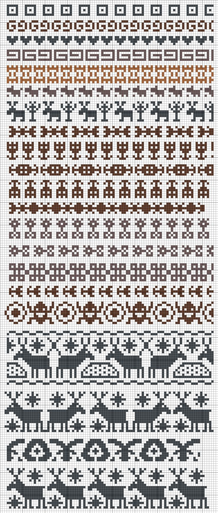 25  unique Fair isle knitting patterns ideas on Pinterest | Fair ...