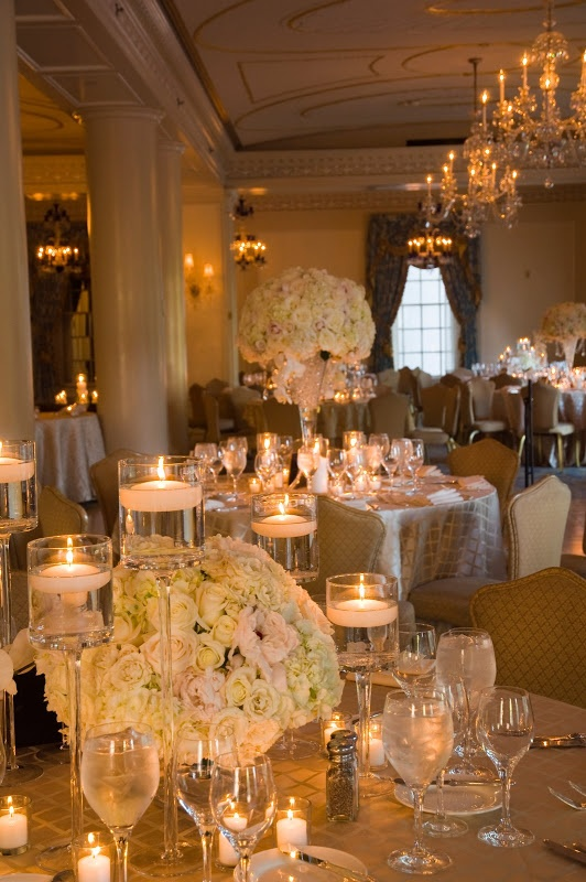 848 Best Images About WHITE WEDDINGS And CENTERPIECES On Pinterest
