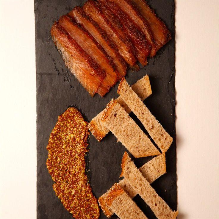 Easy homemade pastrami lox recipe: http://www.patesmith.co/pastrami-lox-recipe/