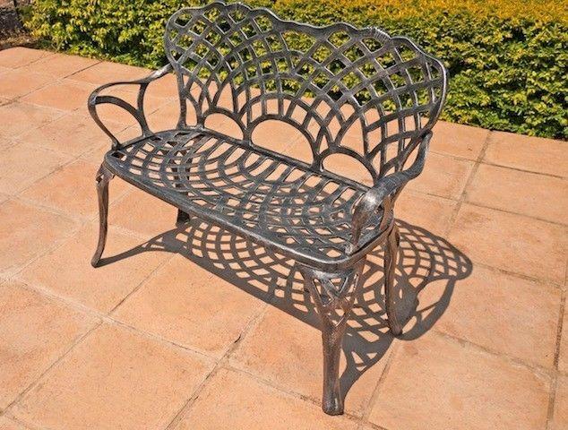 Oltre  migliori idee su Cast aluminium garden furniture su Pinterest