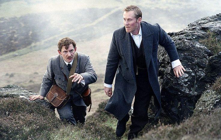 IAN HART as Watson and RICHARD ROXBURGH as Sherlock Holmes 2002