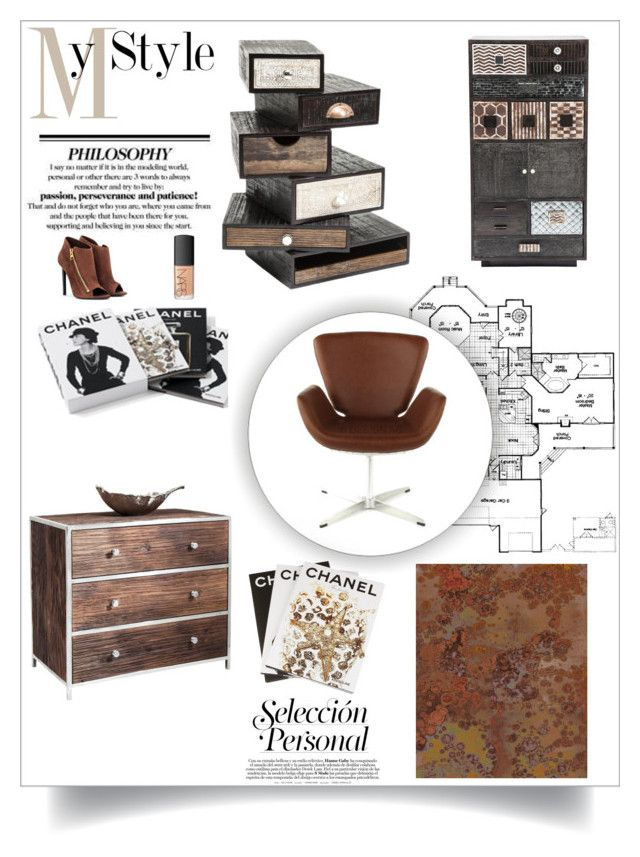 HOME DECOR FROM THE CATWALK by karedesign on Polyvore featuring interior, interiors, interior design, home, home decor, interior decorating, Tom Ford, NARS Cosmetics, Komar and Chanel