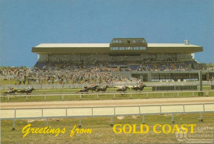 Southport Racecourse, Bundall - Postcard 1975