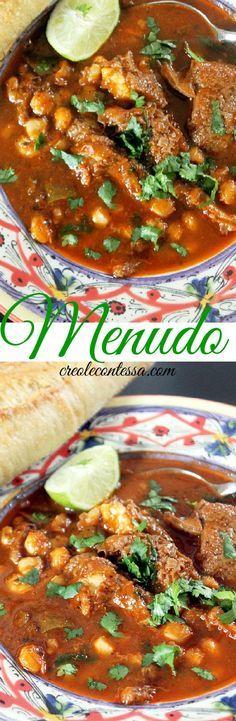 Hot and Spicy Menudo-Creole Contessa #cincodemayo
