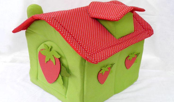 Σπιτάκι Σχέδιο Φράουλα
