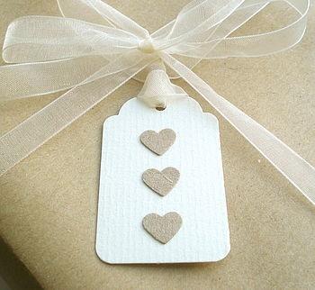 Handmade labels # hearts