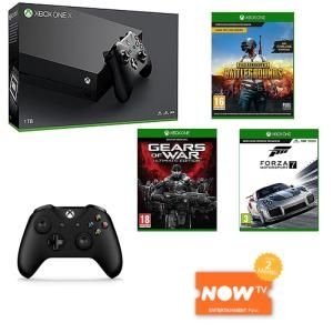 Grab Xbox One X With Three Games Controller and Now TV for 470    Want IGN UK Deals in your social feeds? Like us on Facebook and follow me on Twitter for the most up-to-date bargains.  Snag The Hottest Xbox One X Deal  Continue reading  https://www.youtube.com/user/ScottDogGaming @scottdoggaming