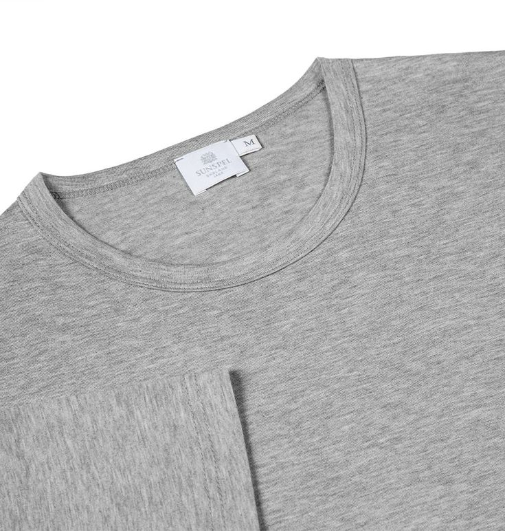 Buy this superb quality t-shirt made from soft, long lasting Egyptian cotton. A timeless tee – a men's wardrobe essential from a classic British clothing brand.