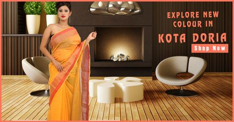 Indieswagga offers to online check & delivery wide variety of fashinable Kota Doria Sarees in Bhubaneswar, Ranchi & Delhi NCR https://goo.gl/SpBbKd