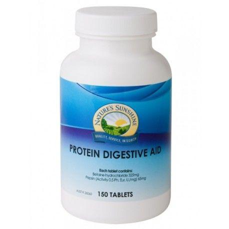 Nature S Sunshine Protein Digestive Aid 150 Tablets At Megavitamins Supplement Australia