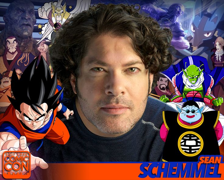 Meet voice actor Sean Schemmel at #SLCC17! Goku in the Dragon Ball Z anime franchise, King Kai, video games, and more! #utah
