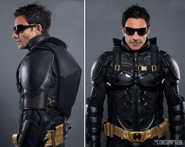 The Dark Knight Rises Leather Motorcycle Backpack 2