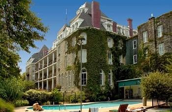 The haunted Crescent Hotel, Eureka Springs, AR