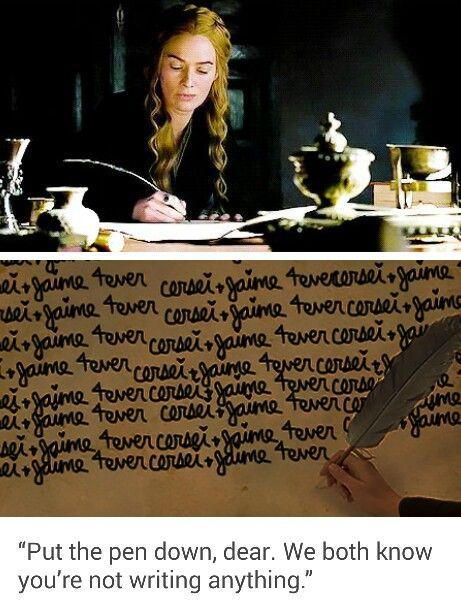 Cersei and Jaime 5ever