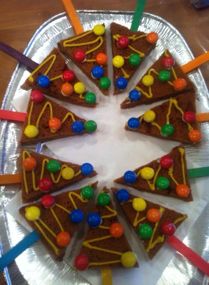 Ontbijtkoek taartjes