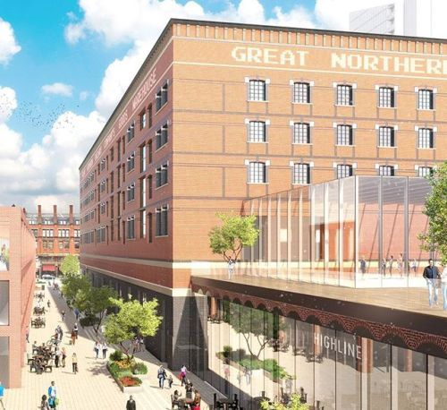 Trilogy Real Estate Management Inc. and Peterson reveal plans for the transformation of Manchesters Great Northern Square Great Northern Warehouse and Deansgate Terraces allDesign Simpson Haugh and Partners Planit-IE and Johnson Naylor    Follow the link