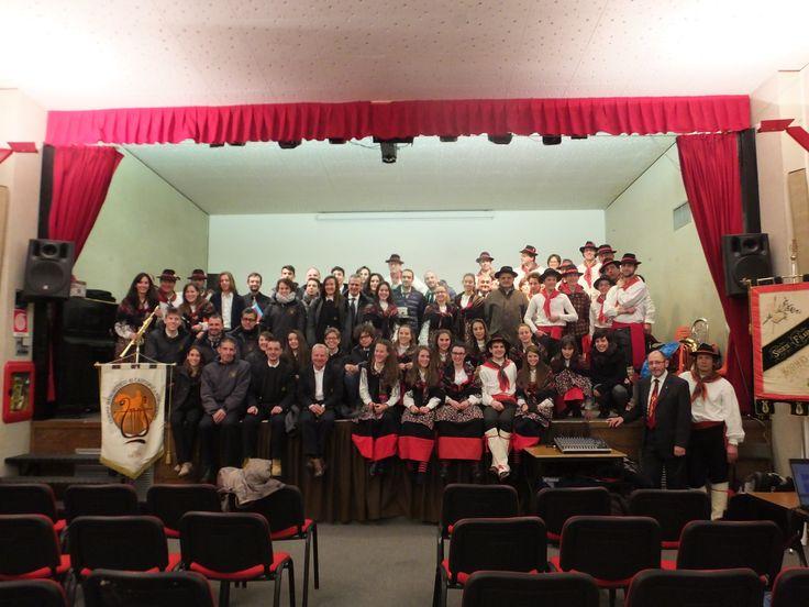 Natale di Pace, gli auguri della Filarmonica Bormiese e del Corpo Bandistico di Castione Andevenno, Bormio dicembre 2015