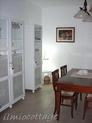 Il mio cottage: La vetrinetta provenzale