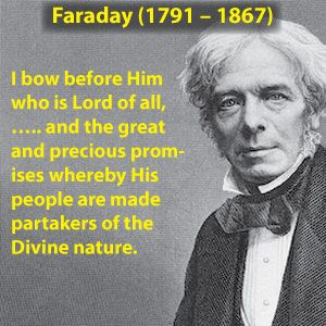 Michael Faraday, (England), with his groundbreaking work on electromagnetism, became one of history's most influential scientists. Faraday's discoveries enabled the creation of electric motor and generator technology, which made electricity practical for everyday use.  Faraday found that moving a magnet through a loop of wire caused an electric current to flow, which was later modelled mathematically by James Clerk Maxwell as Faraday's law, (one of the four of Maxwell's equations).