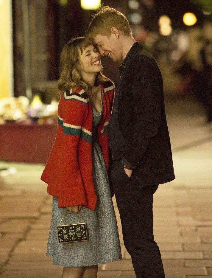 """Domhnall Gleeson y Rachel McAdams en""""Una Cuestión de Tiempo"""" (About Time), 2013"""